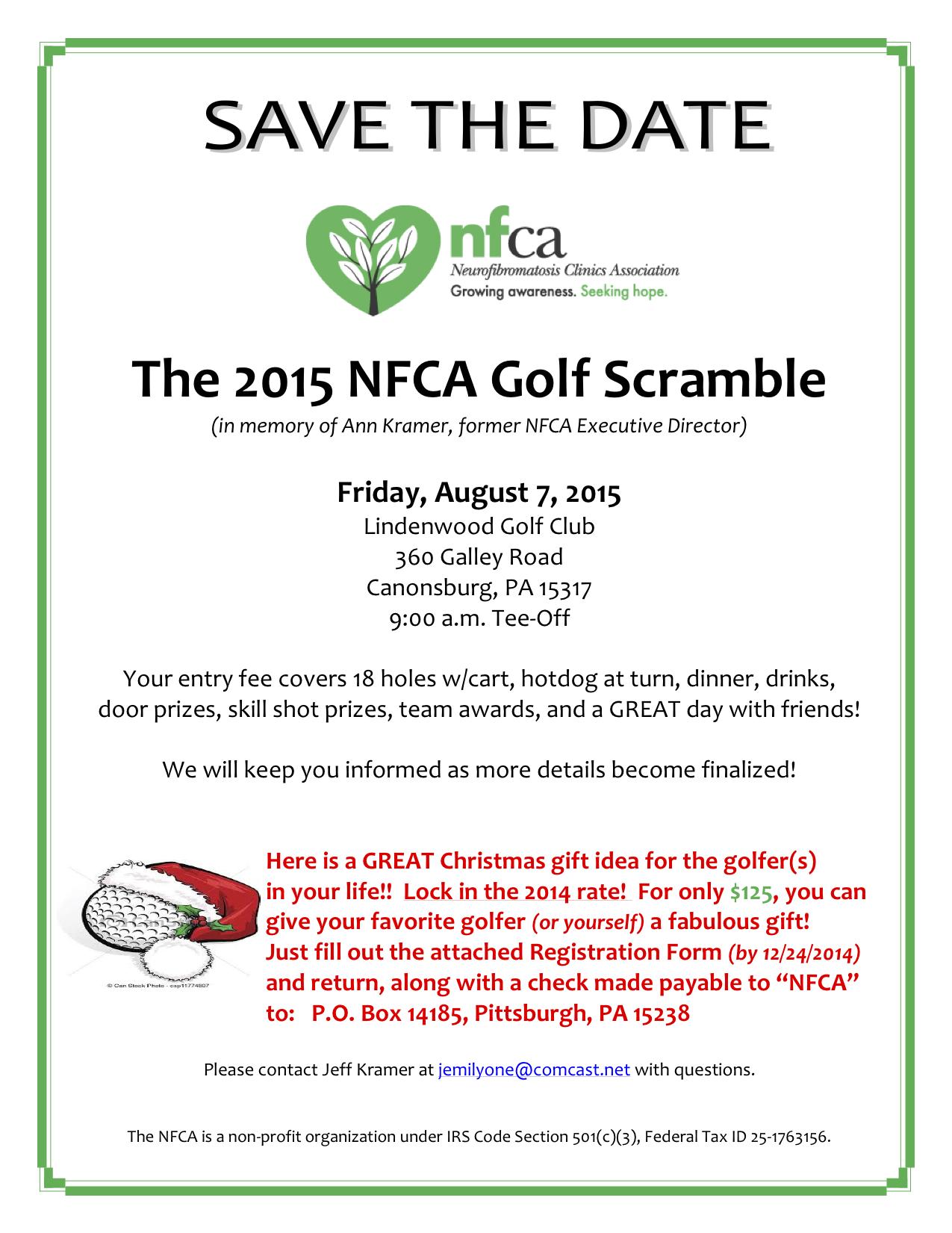 2015 NFCA Golf