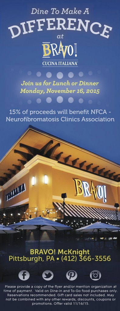 Dine to donate NFCA - OFFICIAL